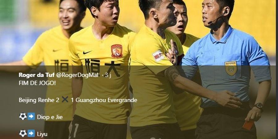 Eks Pilar Barcelona Diusir Wasit, Tim China Akhirnya Terima Kekalahan