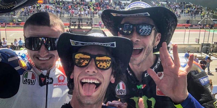 MotoGP Americas 2019 - Alex Rins Ungkap Rahasia Salip Valentino Rossi