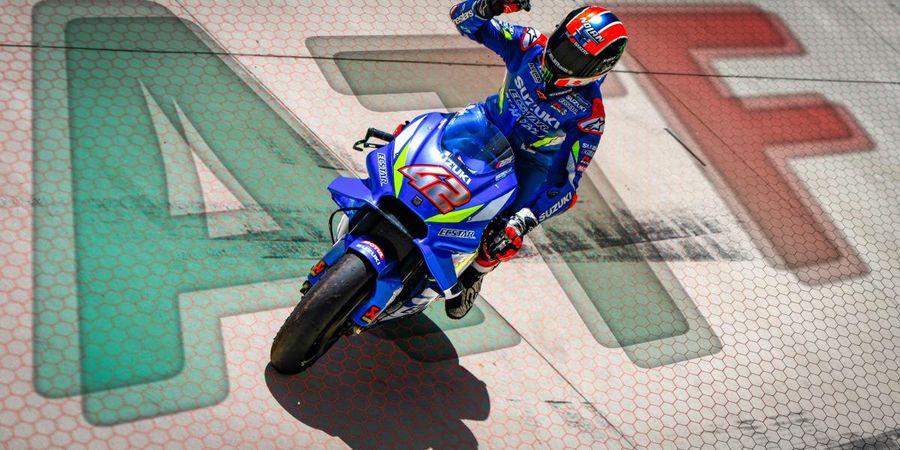 Alex Rins dan Valentino Rossi Disebut Pengamat Sama Hebatnya