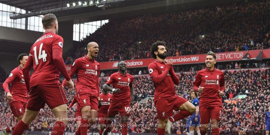 Hasil dan Klasemen Liga Inggris - Man City Hanya  2 Jam Puncaki Klasemen, Sebelum Diambil Lagi oleh Liverpool