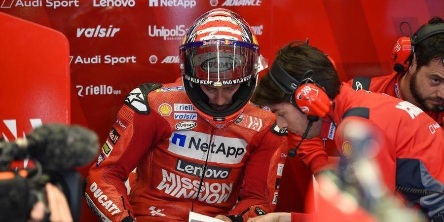 Gagal Raih Podium, Andre Dovizioso Tetap Optimistis Bersama Ducati