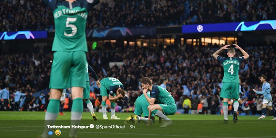 Line-up Man City Vs Tottenham - Bertemu Lagi, Kali Ini di Liga Inggris