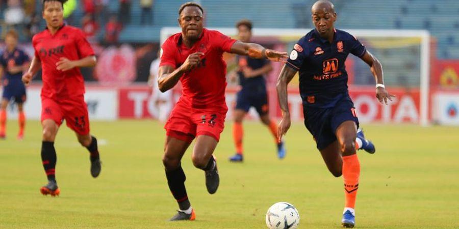 Eks Bek Persib Victor Igbonefo Menelan Hasil Negatif di Piala FA Thailand 2019