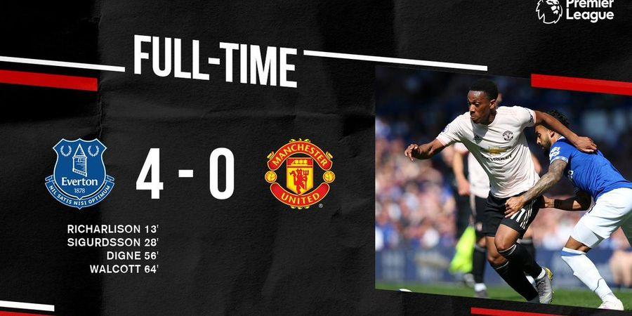 Kapan Terakhir Kali Manchester United Kalah 0-4 di Liga Inggris?