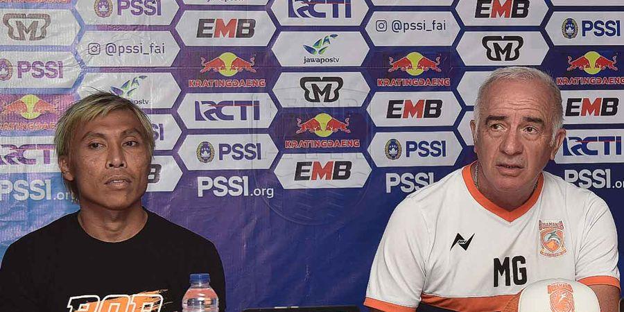 Borneo FC Ditahan Imbang Bhayangkara FC, Mario Gomez Janji Lakukan Perbaikan
