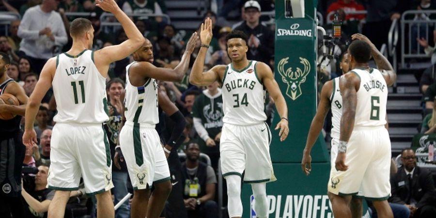 Hasil Playoffs NBA - Setelah 18 Tahun, Milwaukee Bucks Kembali Tembus Semifinal Wilayah