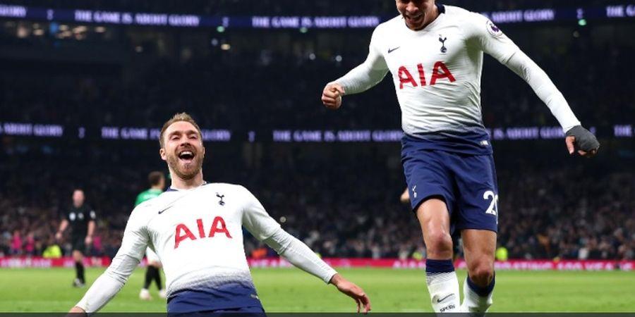 Hasil Liga Inggris - Sepakan Geledek Eriksen Antar Tottenham Raih Kemenangan