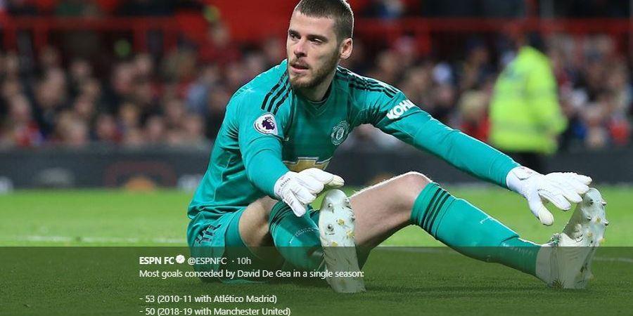 Mantan Kiper Man United Soroti Kontrak Baru buat David de Gea