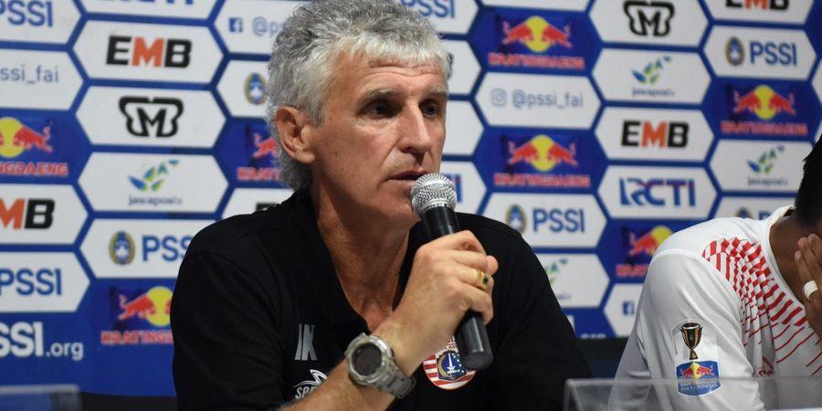 Kekalahan Persija dari Bali United Sulit Dipercaya Ivan Kolev