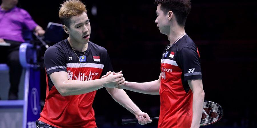 Rekap Semifinal Kejuaraan Asia 2019 - Indonesia Sisakan Marcus/Kevin