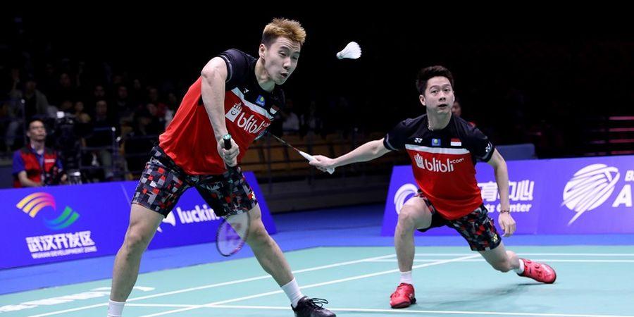 Hasil Kejuaraan Asia 2013 - Marcus/Kevin Belum Berhasil Raih Gelar Usai Bertarung 35 Menit