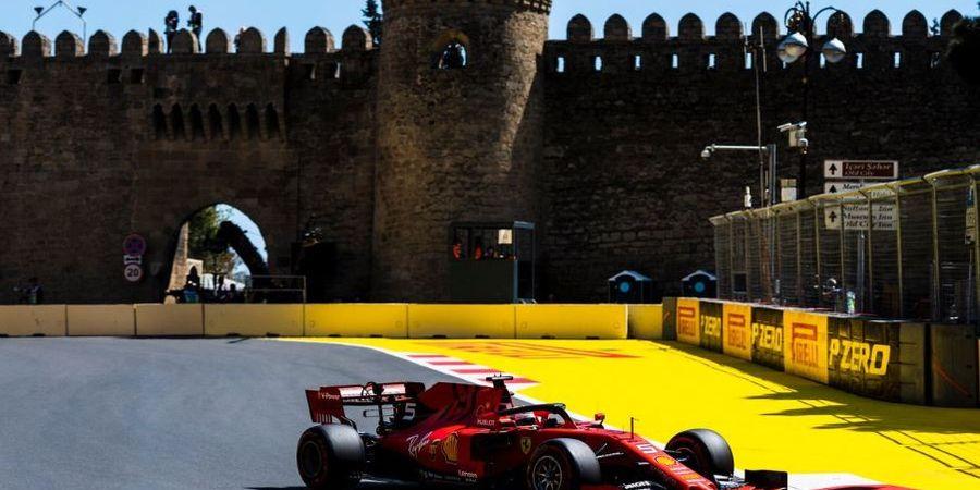 Sebastian Vettel Sesalkan Insiden yang Dialami Charles Leclerc