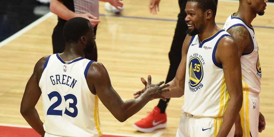 Hasil Playoffs NBA 2019 - Warriors Ungguli Rockets pada Gim Ke-1