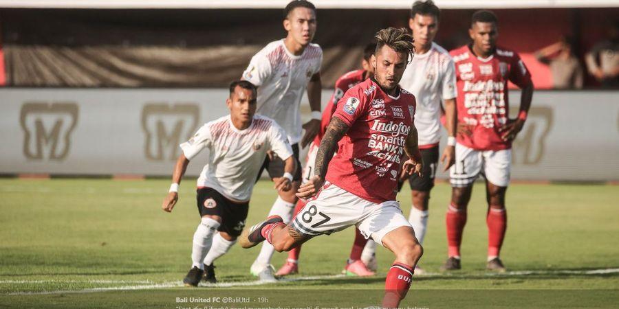 Hasil Babak I Bali United Vs Arema FC, Gol Sundulan Dibalas Tembakan Roket