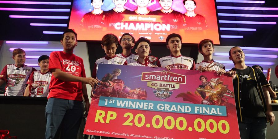 Smartfren 4G Battle Mobile Legends Grand Final Memperebutkan Gelar Juara