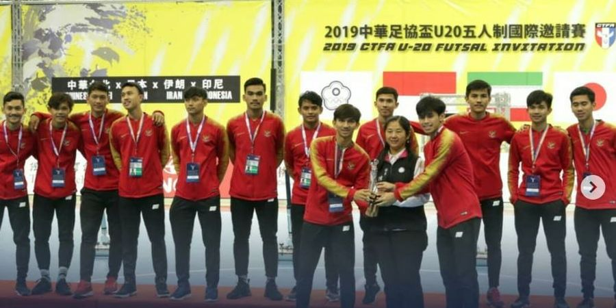 Kensuke Takahashi Bangga Timnas Futsal Indonesia U-20 Jadi Runner-up di Ajang Battle Of Asia