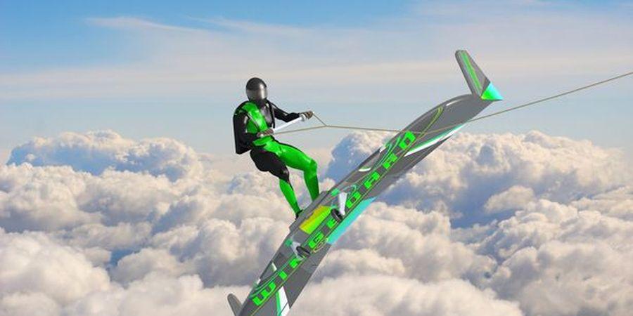 Dahsyat, Olahraga Super Ekstrem Bernama Wing Boarding Sedang Dikembangkan!