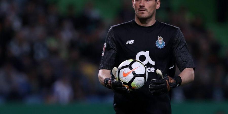 Eks Real Madrid Iker Casillas Terkena Serangan Jantung Saat Latihan