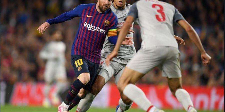 Video Virgil van Dijk Minta Tolong untuk Bantu Jaga Lionel Messi