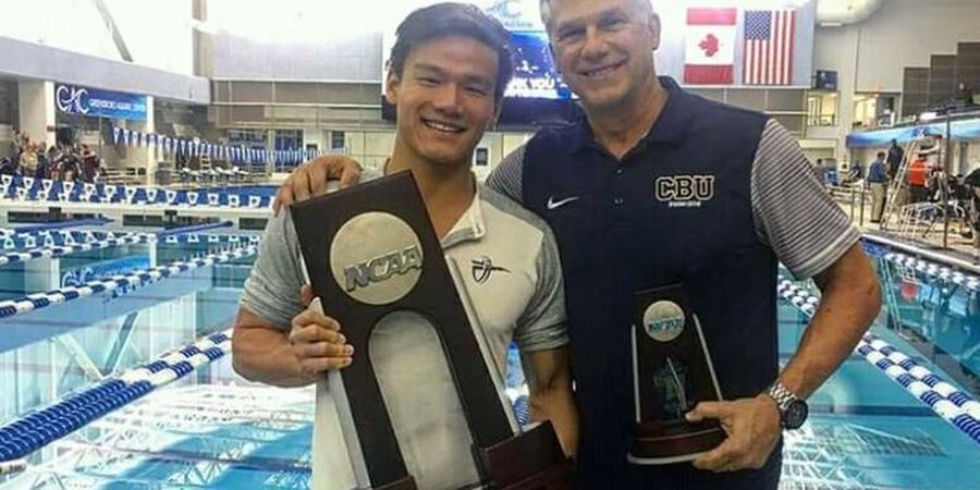 Atlet Renang Indonesia Dapat Penghargaan Mahasiswa Berprestasi di AS