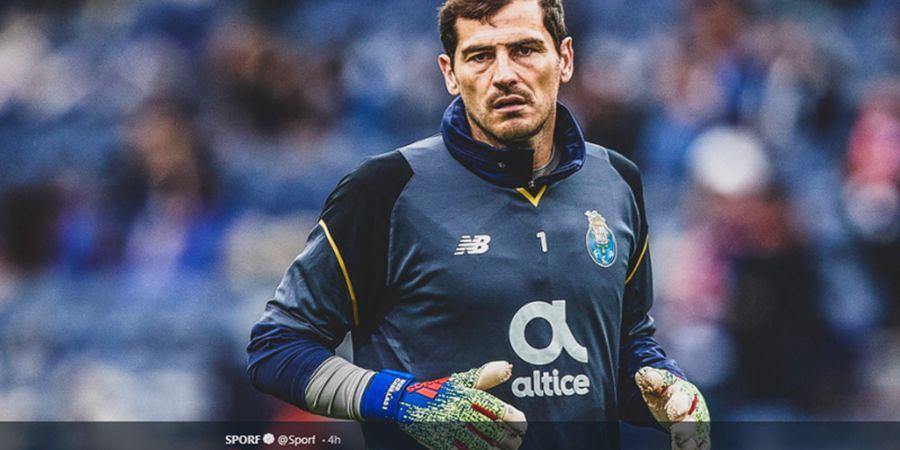 Kepedulian Kalahkan Rivalitas, Doa untuk Iker Casillas dari Kawan dan Lawan