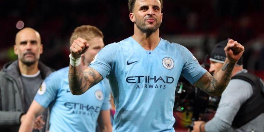 Kyle Walker Sebut Perburuan Gelar Liga Inggris Man City Belum Berakhir