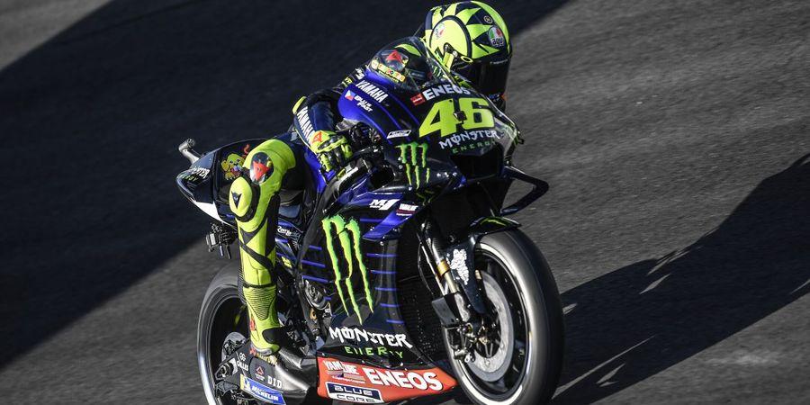 VIDEO - Momen Ketika Rossi Dibantai Maverick Vinales di Lap Terakhir Le Mans