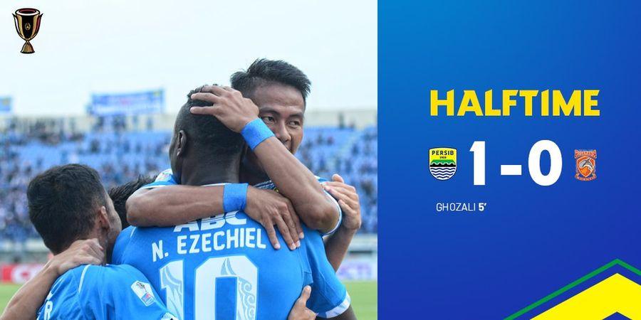 Ghozali Siregar Bawa Persib Unggul di Babak Pertama Lawan Borneo FC