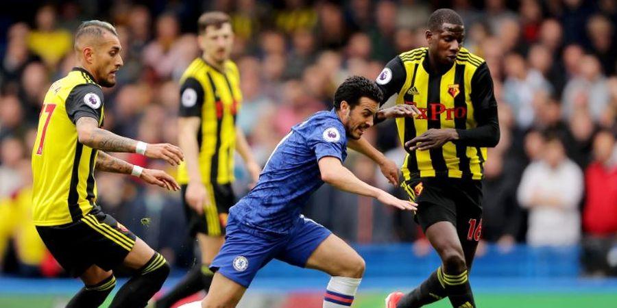 Chelsea Vs Watford - Babak I, Tuan Rumah Harus Puas Imbang Tanpa Gol