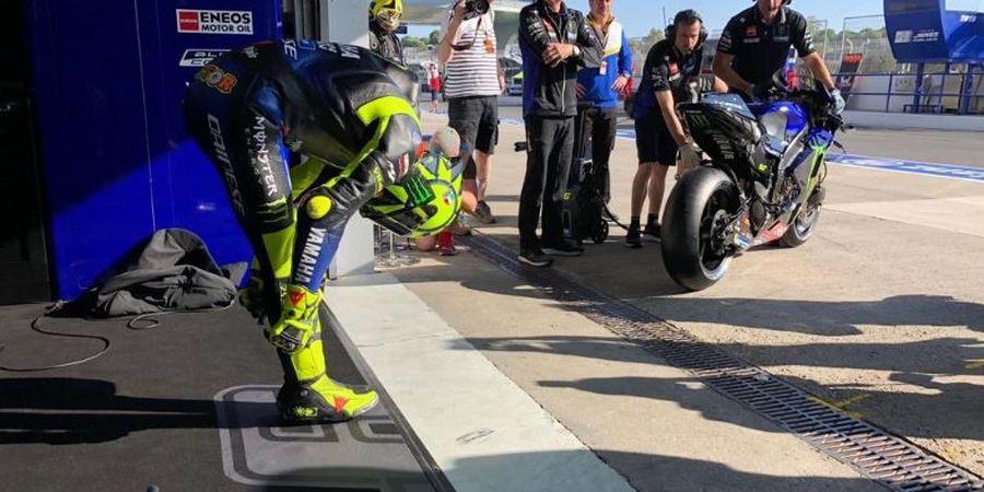 Berita MotoGP - Valentino Rossi Ajak Semua Pembalap MotoGP Hentikan Marc Marquez