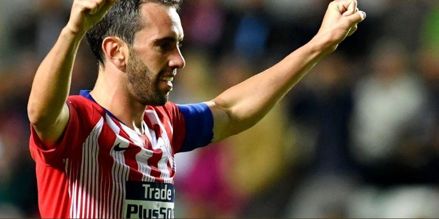 Diego Godin Sempat Ditebus Man City, tapi Batal karena Ancaman Simeone