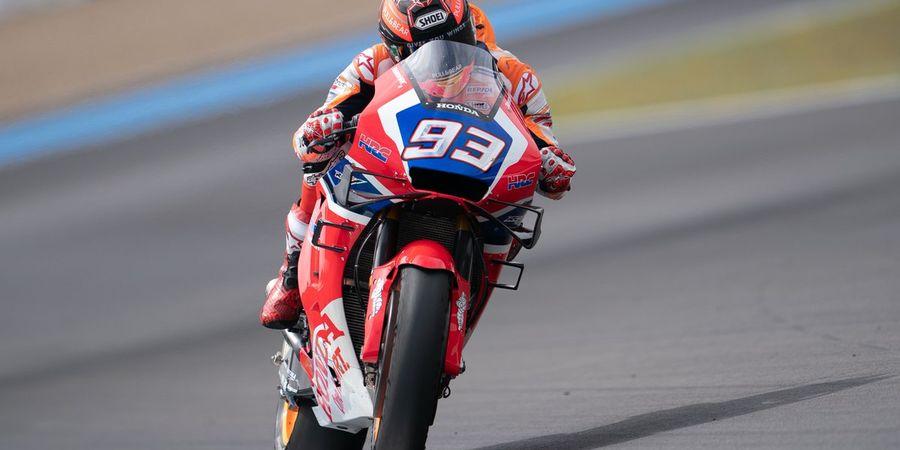 VIDEO - Mengingat Insiden Konyol Jatuhnya Marquez dan Dovizioso di Le Mans