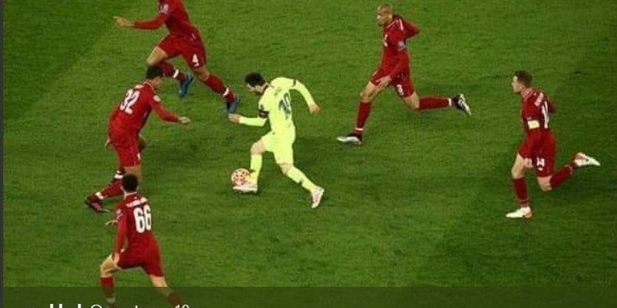 VIDEO - Tak Disorot! Andrew Robertson Keplak Messi, Messi Ternyata Lakukan Hal Serupa