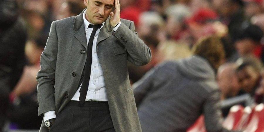 Adanya 3 Bintang di Ruang Ganti Barcelona Buat Valverde Tak Berdaya