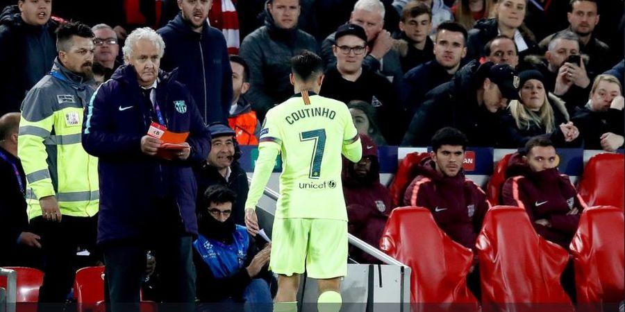 Liverpool Bikin Barcelona Merana, Philippe Coutinho Tak Berguna