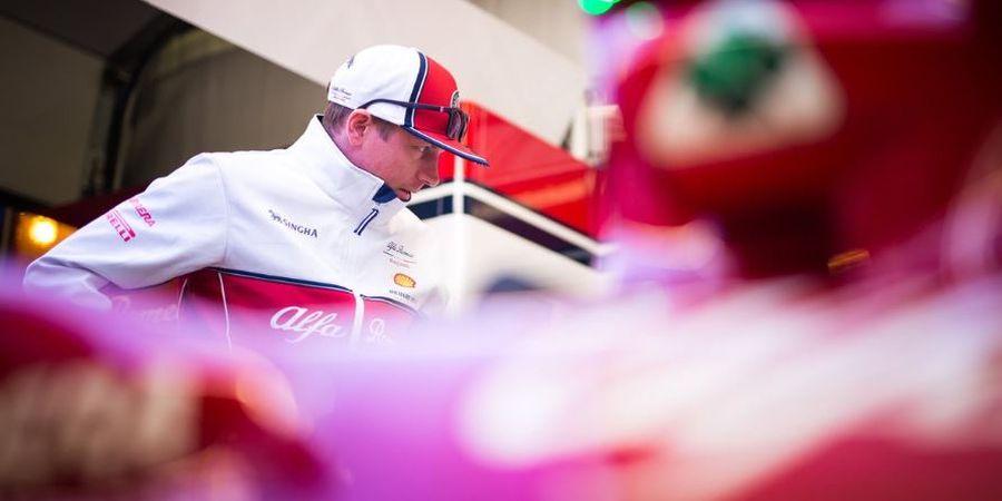 Jelang GP F1 Spanyol 2019, Raikkonen Optimis dengan Performa Mobilnya