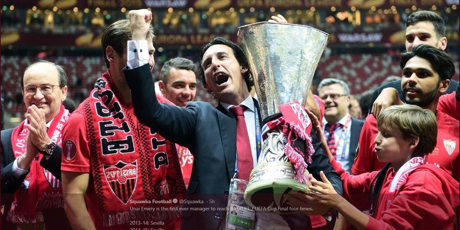 Arsenal ke Final, Unai Emery Si Raja Liga Europa Siap Tambah Gelar