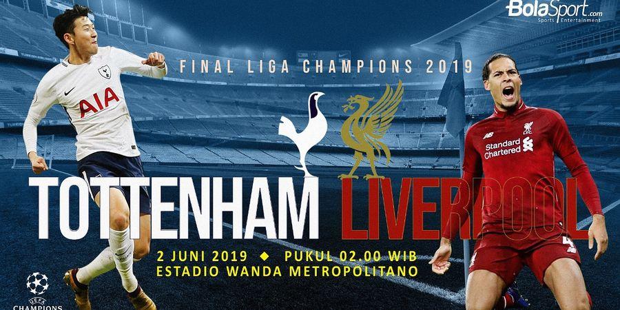 Tottenham Hotspur Vs Liverpool - Prakiraan Starter, Statistik dan Bursa Prediksi