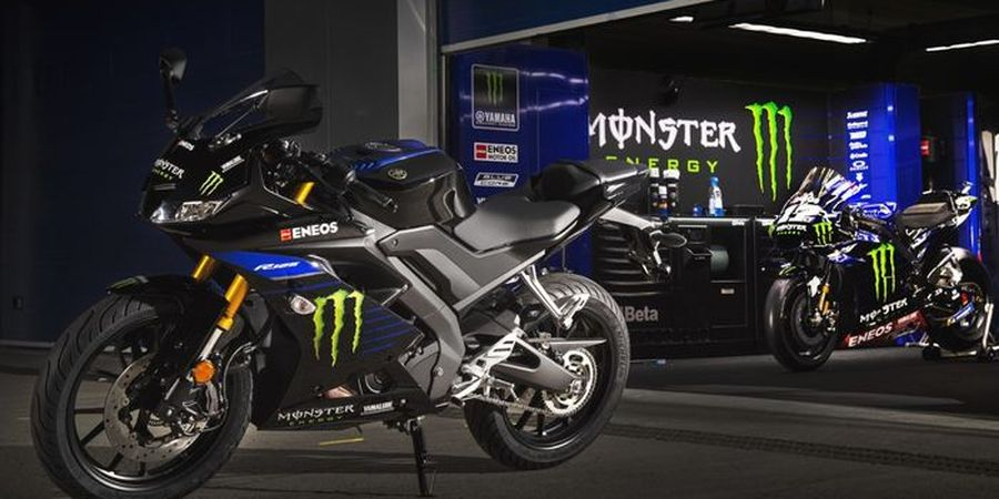 Livery Monster Energy Yamaha di R125, Acuan R15 di Indonesia?