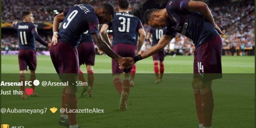 Hasil Liga Europa - Duo Labu Muluskan Jalan Arsenal ke Final