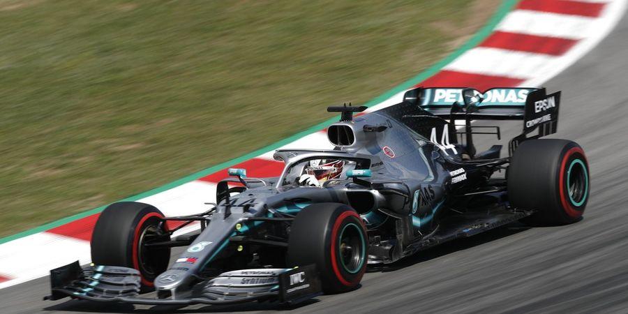 Hasil FP3 F1 GP Spanyol 2019 - Tertunda 2 Kali, Hamilton Tetap Melesat