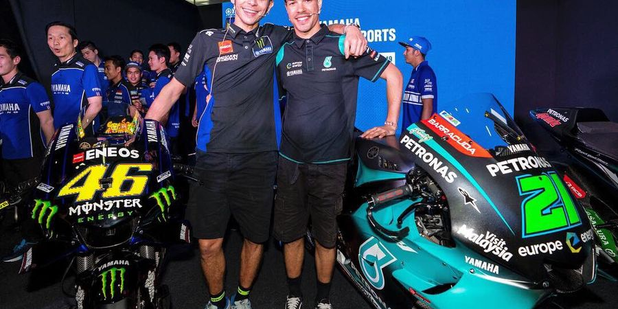 Valentino Rossi Tak Sangka Bakal Duet Bareng Muridnya di Tim Satelit Yamaha