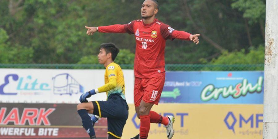 Ditolak Persib Bandung, Pemain Asing Ini Malah Bersinar di Myanmar