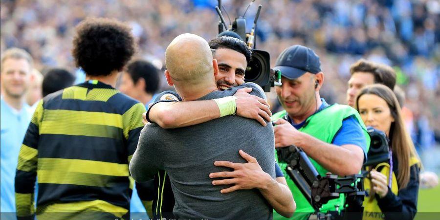 Juara dengan Man City dan Leicester, Riyad Mahrez Ucap Alhamdulillah