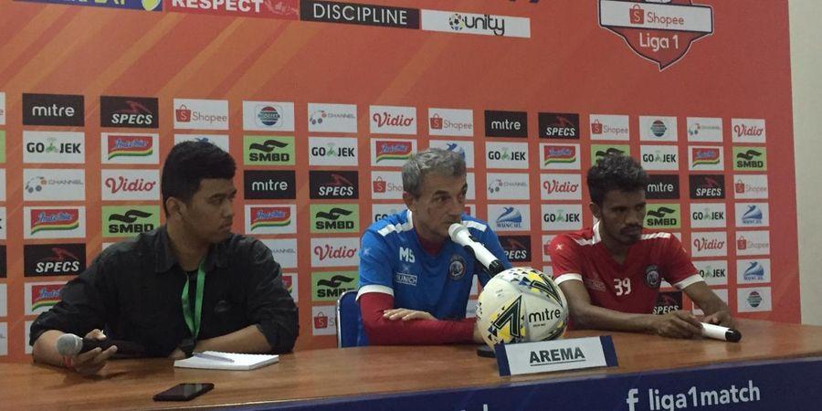 Arema FC Disebut Kalah dari Borneo FC karena Takut, Ini Respons Milomir Seslija