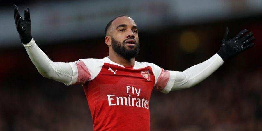 Ukir 50 Gol untuk Arsenal, Alexandre Lacazette Susul Thierry Henry dan Olivier Giroud
