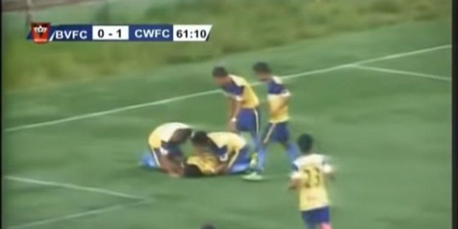 VIDEO - Pesepak Bola ini Tewas Usai Lakukan Selebrasi Ekstrem