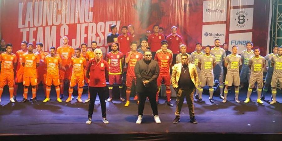 Launching Tim, Borneo FC Pasang Target Menembus Turnamen Asia