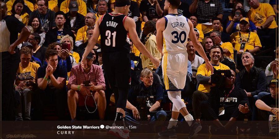 Playoffs NBA - Orangtua Curry Bersaudara Tak Kompak Beri Dukungan
