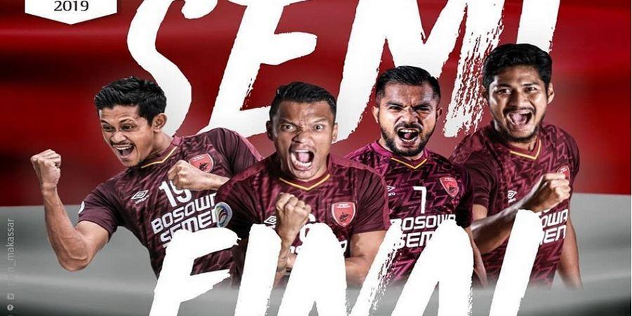 Semifinal Piala AFC 2019 - PSM Makassar Bersua Klub Pembungkam Persija